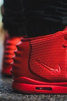 """#Nike Air #Yeezy II """"Red #October"""" #sneakers"""