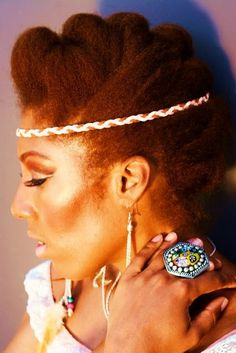 Natural Updo Hairstyles | Black Women Natural Hairstyles