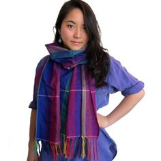 LGBT artisans in Cambodia wove this bright rainbow Krama to raise awareness for LGBT-rights. Kramas are worn all year-round, to protect from the sun or rain. It's available exclusively on Shop Amnesty USA - $30.00 http://shop.amnestyusa.org/Cambodian-Cotton-Krama-Scarf-Light/dp/B00CJCT4TU