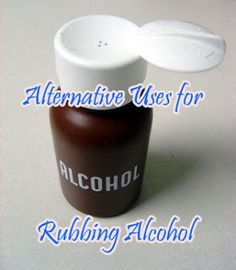 Easy Homestead: 25 Alternative Uses for Rubbing Alcohol