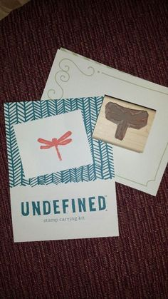 Stacey Lisk shared the beautiful dragonfly she carved with the Undefined kit.