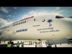 'We build jets!': South Carolina's 1st Boeing 787 rolls out with pride     North Charleston South Carolina Dreamliner