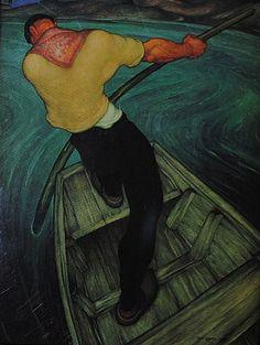 Anto Carte: Le Passeur d'eau, 1941.