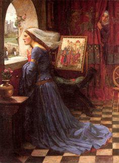 """Fair Rosamund"" by John William Waterhouse"