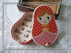 Cartonnage: Russian Doll Treasure Box 俄羅斯娃娃許願布盒 - Bonjour! Ca va? La vie est belle? - Yahoo!奇摩部落格