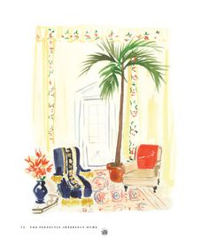 virginia johnson design studio - the perfectly imperfect home illustrations