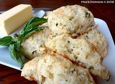 Mia's Domain | Real Food: Gruyere Basil Scones (gluten-free)