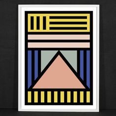 Ndebele-inspired print by Camille Walala
