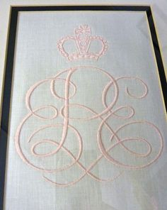 Embroidery from Best Monogram