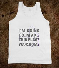 Could totally make an awesome recruitment shirt!
