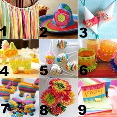idea, colorful crafts, tissue paper flowers, diets, fiesta, tissue flowers, banners, parti, cinco de mayo