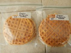 the best freezer waffle recipe.  Pinning and checking out later