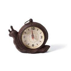 Snail clock