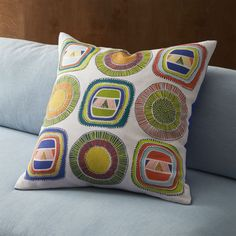 "dutch wax multi 23"" pillow  