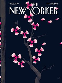 cover of New Yorker / by Christoph Niemann