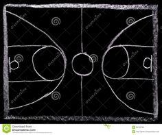 basketball goal chalkboard - Google Search