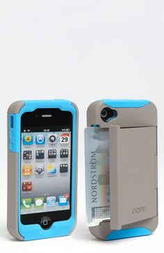 Incipio 'Stowaway' iPhone 4 & 4S Case available at #Nordstrom