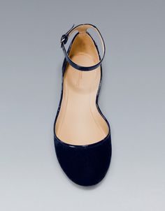 VAMP SHOE WITH VELVET HEEL - #Shoes - Woman - ZARA United States