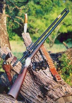 Old time sniper rifle