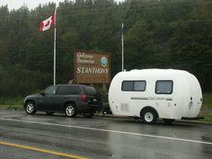 LIGHTWEIGHT FIBERGLASS TRAVEL TRAILER - eggcamper trailer travel, camper, travel trailers, egg