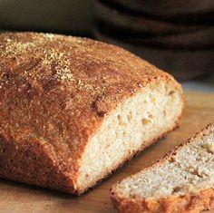 Faux Sourdough Bread - with fermented Dosa batter. Vegan