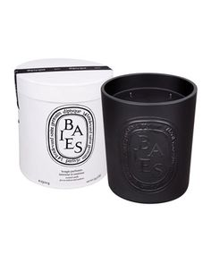 She loves candles from Diptyque. Get her her favorite scent in a limited edition earthenware glass. She will be sure to store her necessities in in later.