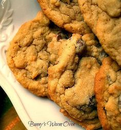 Chocolate Chip Pudding Cookies...delicious chocolate chip cookies with vanilla instant pudding in the batter.  These cookies are rich and delicious!