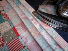 Elizabeth's Fabric Focus ~ Quick-Piece Tiny Squares « Sew,Mama,Sew! Blog