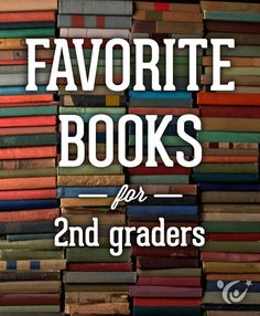 An awesome book list for second grade reading put together by our children's book experts. #reading