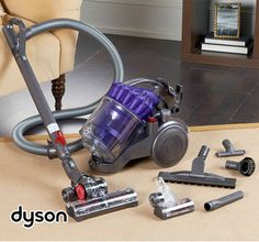 Dyson DC23 Animal Canister Vacuum...Just ordered it...Can't wait to see if it can handle animal hair as well as everyone says it can!