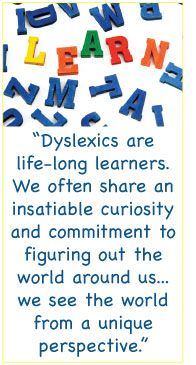 Great article on dyslexic learners.