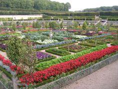 Château de Villandry jardin potager