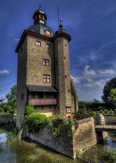 Vollrads castle ~ Schloss Vollrads is a wine estate in the Rheingau wine-growing region in Germany, that has been making wine for over 800 years