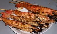 Grilled Prawns (Shrimps)