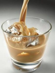 The Butterfinger Cocktail - Ingredients butterscotch schnapps, Bailey's, and milk. O.M.G.!!!