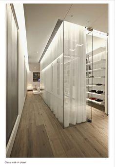 glass closet