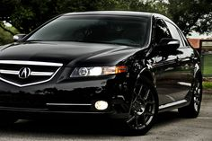 Acura TL Type S, the black beauty. Oh how I wish i had this!!