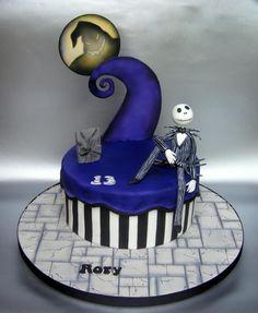 hat idea, skellington cake, christmas cakes, christma cake, eat cake