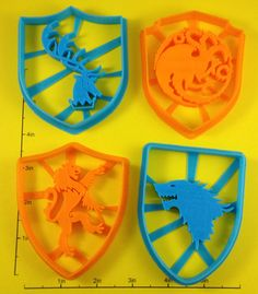 Game of Thrones Cookie Cutters Depicting Sigils & Tyrion Lannister