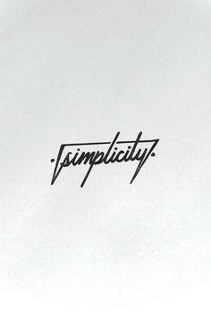 Keep it simple folks...