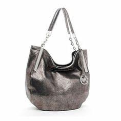 Michael Kors Julian Large Shoulder Tote Nickel-$120 handbag, purs, larg shoulder, style, julian larg, michael kors, shoulder tote, nickel, kor julian