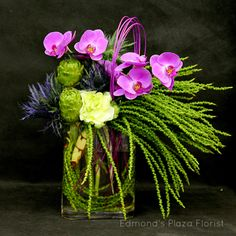 Great Example of Tropical Texture from Edmond's Plaza Florist, San Mateo, CA