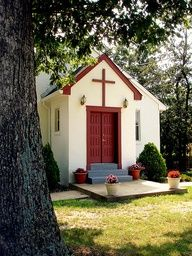 "very small but still a house of the lord..."" wherever two or more are gathered!"""