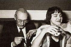 William S Burroughs and Madonna