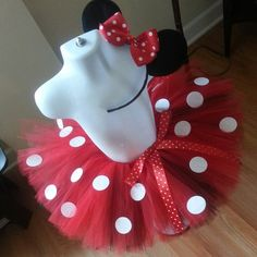 Minnie Mouse Tutu - Red