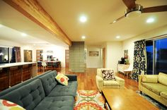 well curated mid-century mod