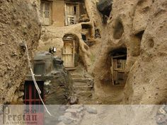 Northern Iran, 700 year old cave/stone house dwellings.