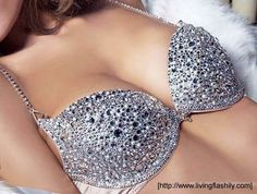 #glam #Swarovski #bra...Why not?!