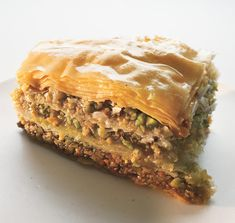 Chef Michael Symon's Walnut and Pistachio Baklava
