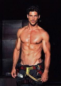 Galeria de fotos para tu blog o webpage: Hot Sexy Men-Hombres Guapos eye candi, guy, firefighters, firemen, sexi men, leo rico, blog, man, hot men